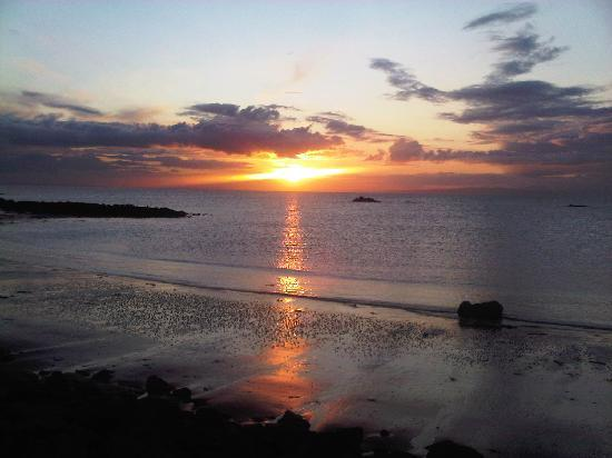 Girvan, UK: Wow Sunset