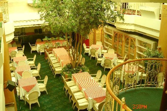 Golden Palais Hotel: 歐式中庭