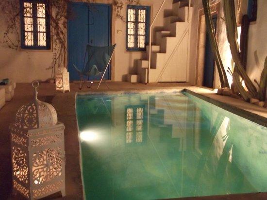 Erriadh, Tunus: le soir a Dar Bibine