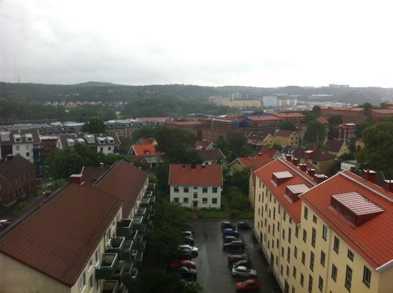Quality Hotel Panorama: view from 8th floor