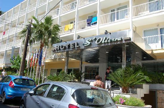 HSM S'Olivera: entrance