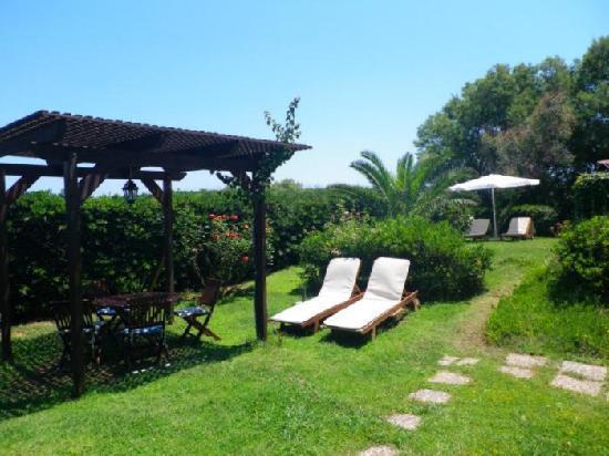 Villa Fleria Seaside Studios & Apts: garden