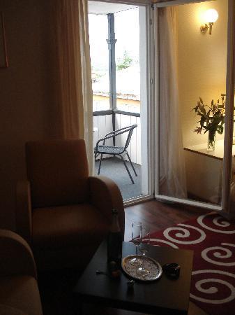 Le Petit Palais: Sitting Area