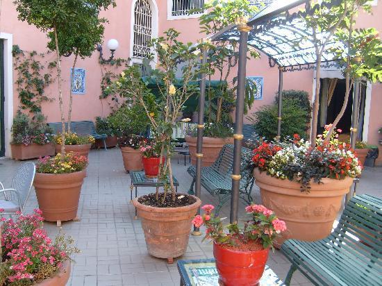 Hotel Villa Romeo: terrazza