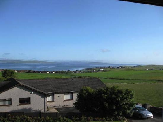 Hildeval Bed & Breakfast: View from bedroom window.