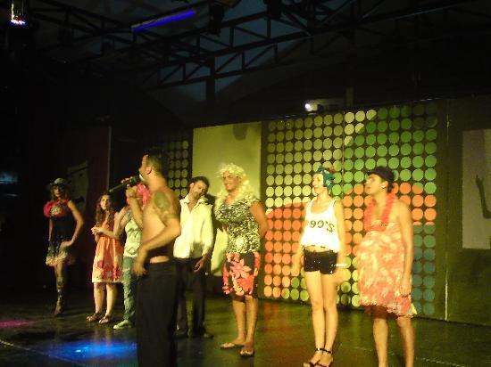 Batihan Beach Resort & Spa: animation team afer a funny show