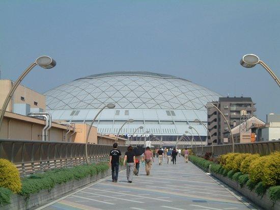 Nagoya Dome : ドームまでの道