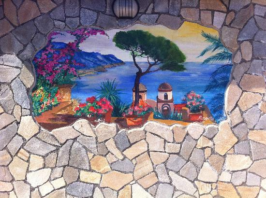 Il Dolce Tramonto: Mural painting