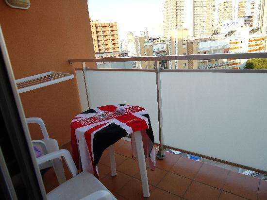 MedPlaya Hotel Regente: The balcony