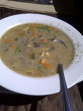 Makayla Restaurant & Bar : Alpaca/Quinoa soup