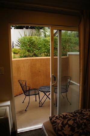 Best Western Woodland Hills Inn: Terrasse