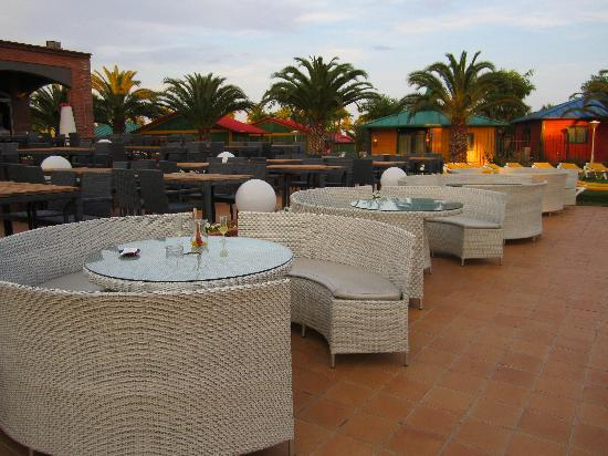 Cambrils Park Resort: terraza