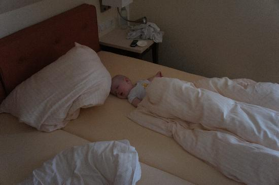 Sulzheim, Deutschland: Some of us did not really felt like waking up in the morning