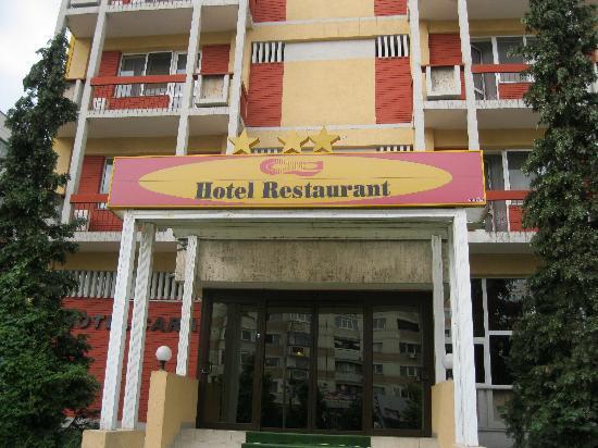 Hotel Cara : Fassade