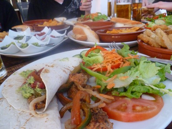 Wild Things Bar : Delicious food