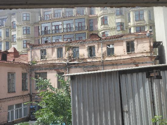 Home from Home Hostel: the rundown building is the hostel