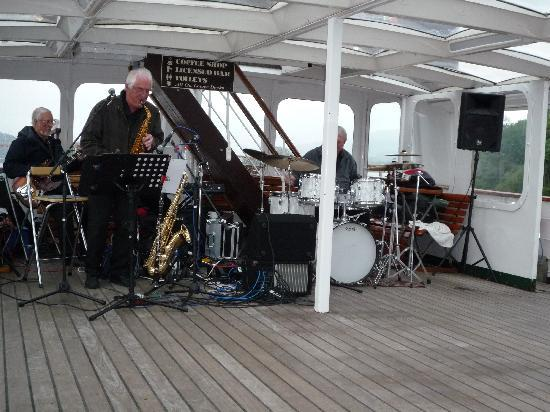 Bowness-on-Windermere, UK: Jazz band