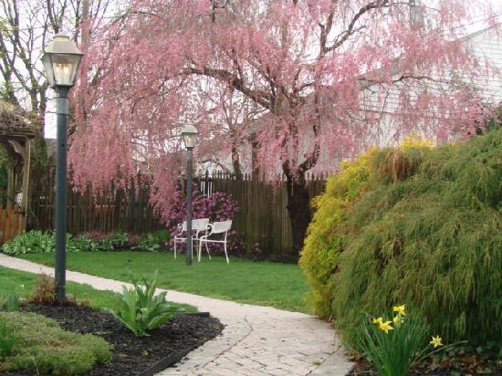 The Gaslight Inn Bed and Breakfast: Gaslight and Garden