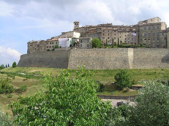 Anghiari, Italia: Stadtansicht