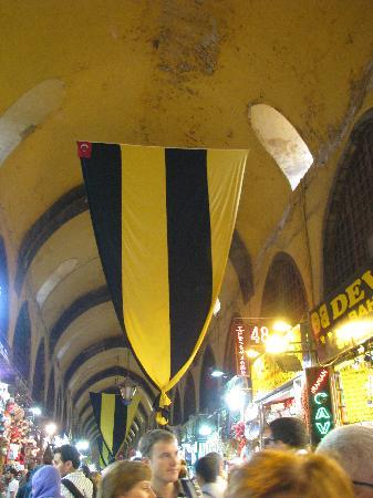 Istanbul, Turkey: Fenerbache in the Kapali Carsi (and everywhere)