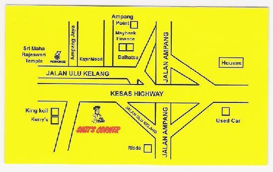 Visitenkarte Rückseite Bild Von Suzi S Corner Kuala