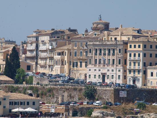 Grecotel Eva Palace: city from the sea