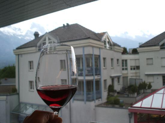 Hotel Restaurant Rössli: View from my room window