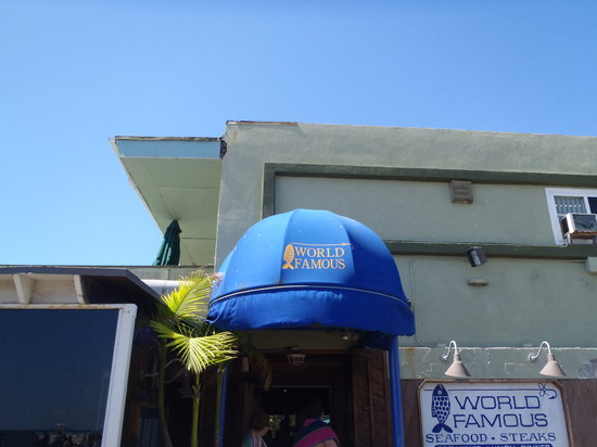 World Famous: The Entrance Sign