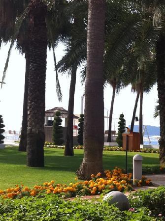 Club Med Palmiye: vue du restaurant du villagio
