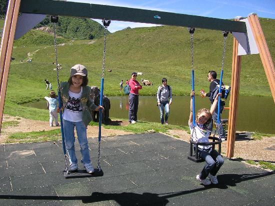 Monte Tamaro: parco giochi