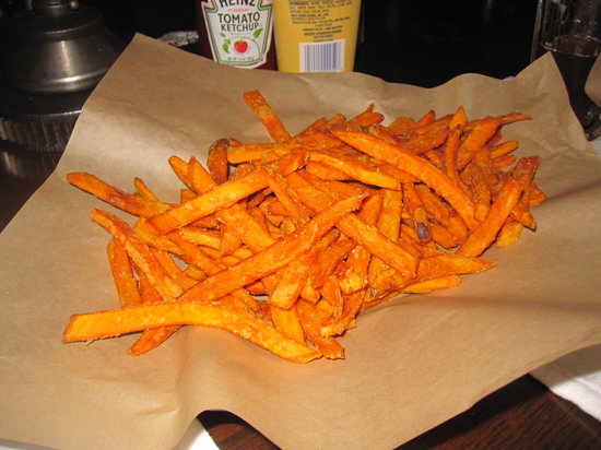 Grease Burger Bar: Sweet potato fries