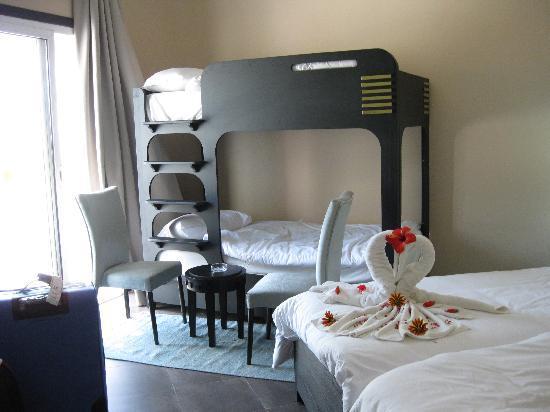 Fiesta Beach Club Djerba : Une chambre spacieuse et confortable