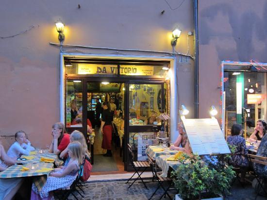 Trasteveresuite B&B : Great Restaurant nearby.