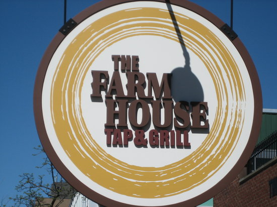 The Farmhouse Tap & Grill : the logo