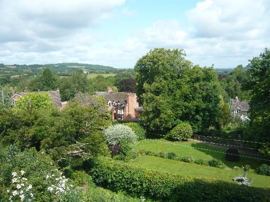 The Old Rectory Bed & Breakfast: View from the bedroom window