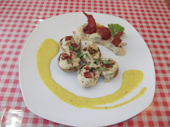Alboraya, إسبانيا: champiñones rellenos