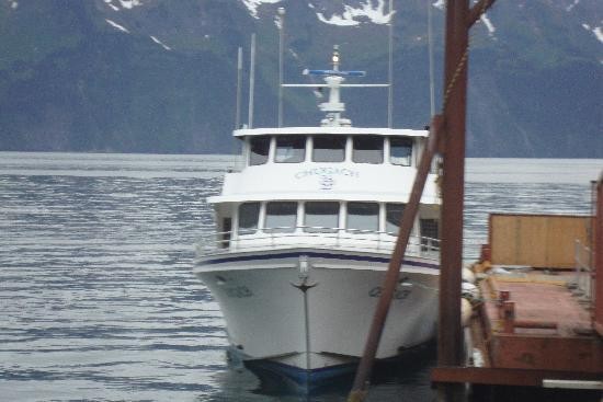 Kenai Fjords Tours: Our comfy boat