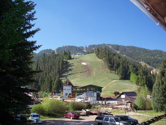 From our room picture of alpine lodge suites red for The alpine lodge