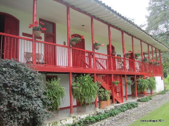 Manizales, Colombia: View of the Hacienda