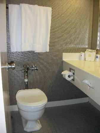 Best Western Grant Park Hotel  Tankless toilet. Tankless toilet   Picture of Best Western Grant Park Hotel
