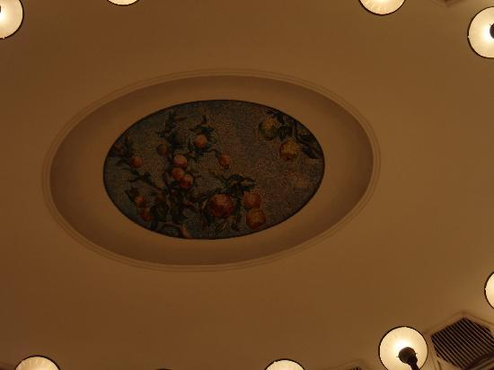 Moscow Metro: Beautiful ceiling artwork