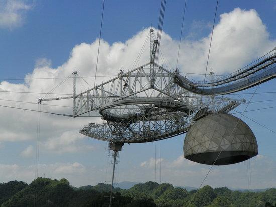 Arecibo Observatory: Arecido Radiotelescope 1963