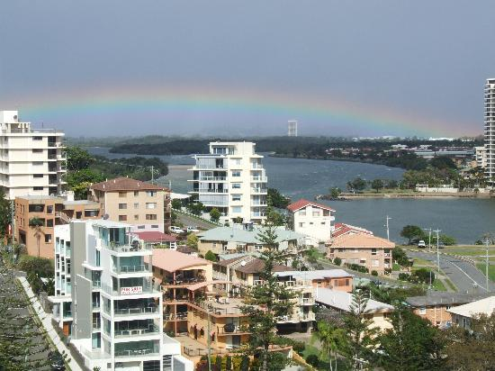 Rainbow Place: View from our bedroom Tweed River