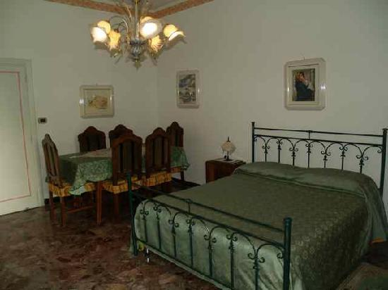 Bedroom at Villa Pollio