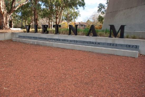 Australian Vietnam Forces National Memorial: Vietnam