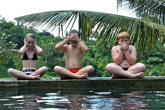 Beji Ubud Resort: Hear no evil, speak no evil, see no evil