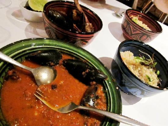 Meeka Restaurant : Israeli couscous and tasty tagines