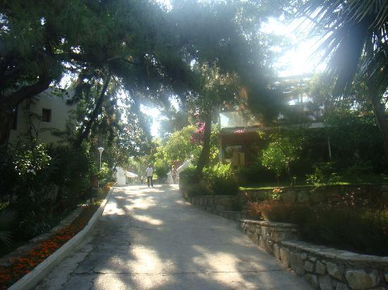 Club Med Bodrum Palmiye: Vers le restaurant