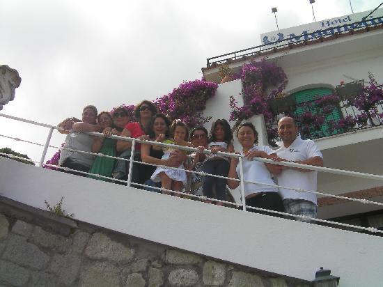 Grazie hotel magnolia, grazie Marco e Lina torneremo presto!