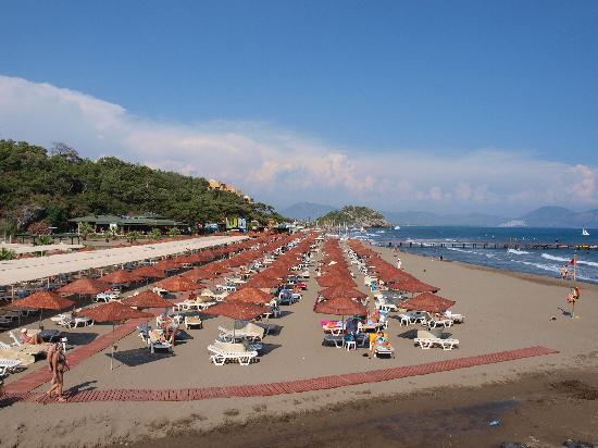 Beach of Sarıgerme Iber